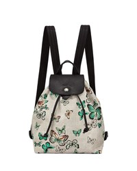 Longchamp Le Pliage Nylon Butterfly Backpack