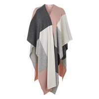 Lk Bennett Cecily Ribbed Wrap Scarves Grey