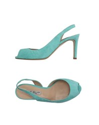 The Seller Footwear Sandals Women Turquoise