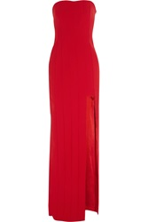 Amanda Wakeley Paneled Jersey Gown