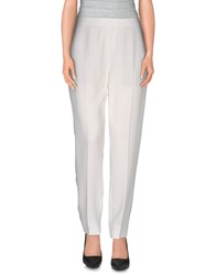 Maison Martin Margiela Maison Margiela 4 Trousers Casual Trousers Women White