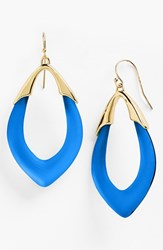 Women's Alexis Bittar 'Lucite Neo Bohemian' Open Drop Earrings Brocade Blue