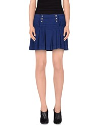 Blu Byblos Skirts Mini Skirts Women Dark Blue