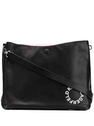 Karl Lagerfeld Hobo Medium Shoulder Bag Black