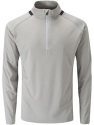 Ping Largo 1 4 Zip Jumper Silver