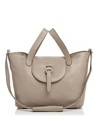 Meli Melo Medium Thela Zipper Tote Taupe