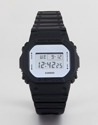 G Shock Limited Edition Metallic Mirror Face Watch In Black