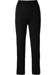 Bouchra Jarrar Tailored Cropped Trousers Black