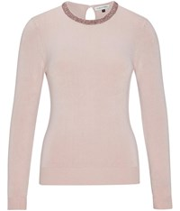 Austin Reed Pink Beaded Jumper
