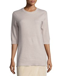 Vince Cashmere Half Sleeve Sweater Sand