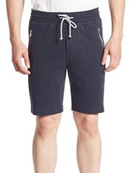 Brunello Cucinelli Zip Pocket Shorts Navy