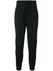 Haider Ackermann Embroidered Track Trousers Black