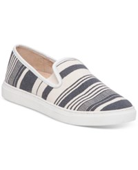 Vince Camuto Becker Slip On Sneakers Women's Shoes Natural Picket Fence