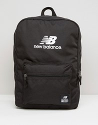 New Balance Booker Backpack In Black Black