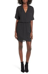 Wayf Women's 'Sutherland' Dolman Sleeve Blouson Dress Black