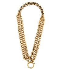 Balenciaga Chain Link Necklace Gold