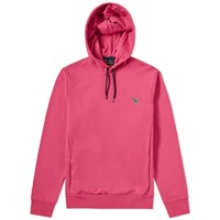 Paul Smith Zebra Popover Hoody Pink