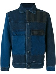 Bleu De Paname Double Pocket Denim Jacket Blue