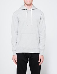 Reigning Champ Pullover Hoodie In H. Grey Heather Grey