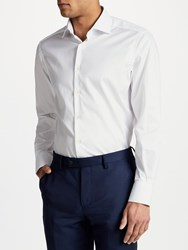 Smyth And Gibson Non Iron Twill Contemporary Fit Shirt White