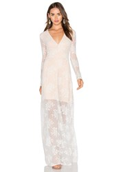 Majorelle Aztec Maxi Dress Ivory