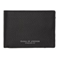 Tiger Of Sweden Black Agata 2 Wallet