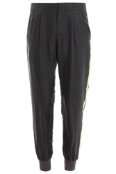 Raoul Ribbed Silk Trousers