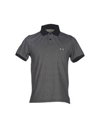 Project E Topwear Polo Shirts Men Black