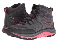 Hoka One One Tor Tech Mid Wp Nightshade Teaberry Shoes Black