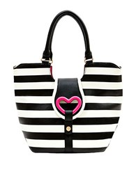 Betsey Johnson Loop Di Loo Tote Bag Stripe