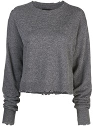 Rta Crew Neck Sweatshirt Grey