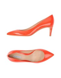 Emporio Armani Footwear Courts Women Red