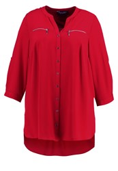 Dorothy Perkins Curve Tunic Red