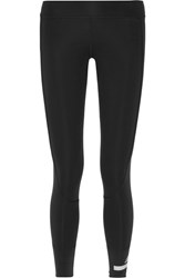 Adidas By Stella Mccartney 7 8 Tight Climalite Stretch Leggings Black