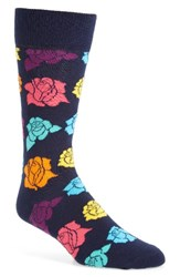 Happy Socks Men's Rose Petal