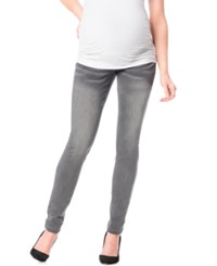 Motherhood Maternity Skinny Jeans Charcoal Wash