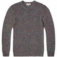 Ymc Tweed Crew Knit