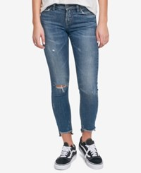 Silver Jeans Co. Calley Ripped Skinny Indigo