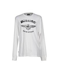 Blauer T Shirts White