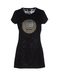 E.Vil Topwear T Shirts Women Black