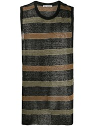 Our Legacy Striped Knitted Singlet 60