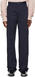 Calvin Klein 205W39nyc Navy Workwear Trousers