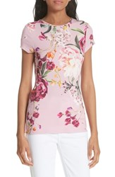 Ted Baker London Evaai Serenity Fitted Tee Lilac