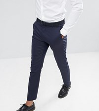 Selected Homme Tall Slim Fit Suit Trouser Dark Navy