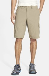 Mountain Hardwear Men's 'Castil' Cargo Shorts Khaki