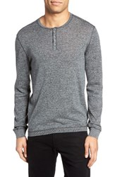 John Varvatos Men's Star Usa Henley Sweater