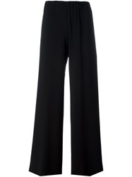 Aspesi Wide Leg Trousers Black
