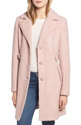 Gallery Boucle Coat Rose Pink