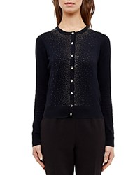 Ted Baker Embellished Cardigan Black