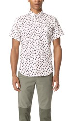 Naked And Famous Teepee Print Short Sleeve Shirt
